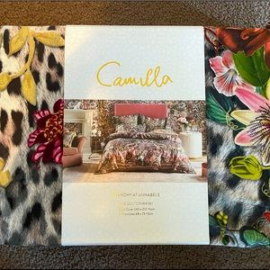‼️RESERVED‼️ BNIP CAMILLA KING SIZE QUILT COVER SET AND EURO